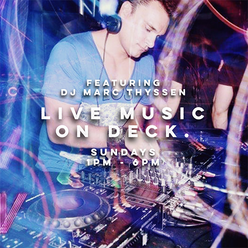 Live Music on Deck.